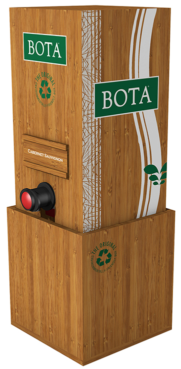 Bota Box bamboo dispenser Product Image